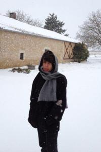 Corinne Comme, victime des intempéries en Gironde.