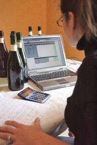 La douane propose aux viticulteurs de déclarer leur récolte par internet. © J.-C. GUTNER