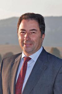 Pascal Férat, président du Syndicat général des vignerons de Champagne. © J.-M. LECLERE