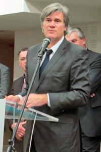 Stéphane Le Foll, le ministre de l'Agriculture, a présenté ses vœux à l'Inao. © A. AUTEXIER