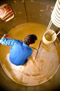 Preignac se dote d'une station de traitements des effluents vinicoles. ©P.ROY