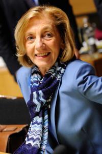 Nicole Bricq, ministre du Commerce extérieur. © J. THYS/AFP