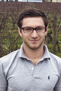 Benjamin Banton, gérant de Banton Lauret, qui propose la pulvérisation avec panneaux récupérateurs. ©C.GOINERE