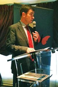 Face à la baisse des cours du vrac, le président duCIVB, Bernard Farges, se veut rassurant. ©M.IVALDI