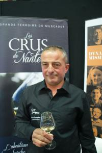 Thierry Martin, porte-parole des Crus de Nantes et producteur à Gorges. ©P.TOUCHAIS