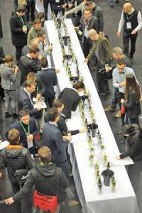 Le salon des vins de Loire se tient à Angers jusqu'au 4 février.,