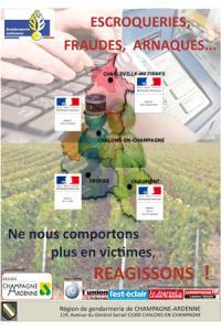 La campagne de lutte contre les vols organisée par la gendarmerie en Champagne-Ardenne.