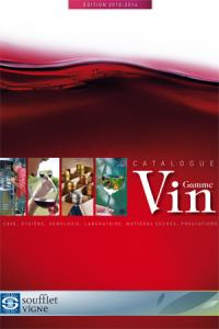 Soufflet vigne édite un catalogue de produits vinicoles pour se diversifier.