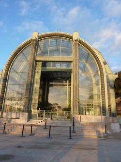 Les serres du Jardin des plantes au Museum national d'histoires naturelles de Paris ont réouvert en 2010, après 5 années de travaux de rénovation.