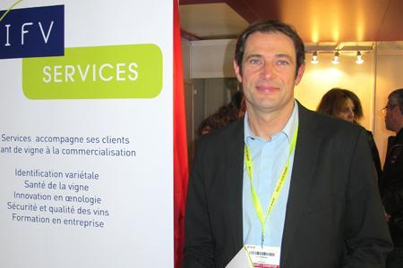 Eric Serrano, responsable administratif de l'IFV Services.