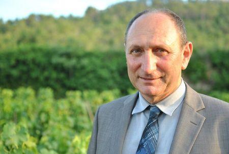 Alain Baccino, vigneron bio en AOP Côtes de Provence Pierrefeu, à été élu pour trois ans à la présidence du CIVP. © CIVP