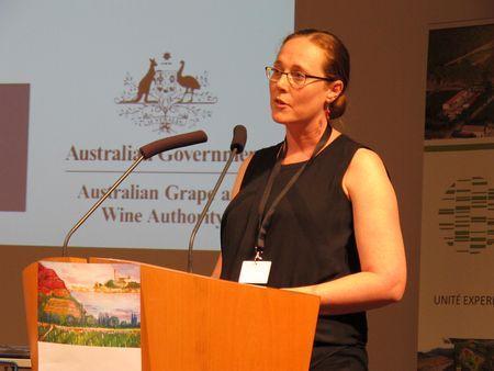 Cassandra Collins, de l'université d'Adélaïde, en Australie. ©C.STEF