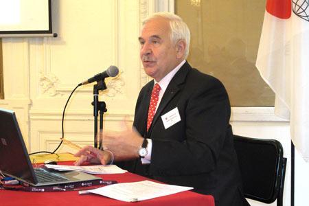 Frederico Castellucci, le directeur général de l'OIV. © A. AUTEXIER