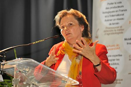 Élisabeth Mercier, directrice de l'Agence bio. © F. CHARAFFI