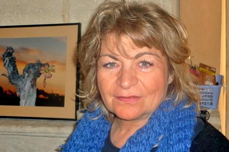 Florence Cardoso, présidente de SOS vignerons sinistrés.