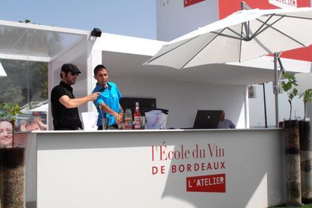 Consommation : Bordeaux rajeunit son image à coup de cocktails. © C. GOINERE
