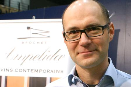 Frédéric Brochet, gérant d'Ampelidae, l'entreprise qui a repris la cave du Haut-Poitou, criblée de dettes. ©P.TOUCHAIS