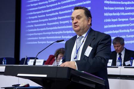 José Manuel Silva Rodriguez, président du groupe à haut niveau sur les droits de plantation. © EU/E. ANSOTTE