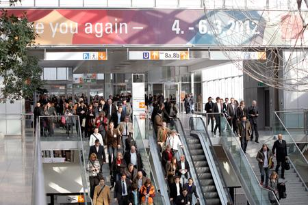 Prowein 2012 augmente sa surface d'exposition. © MESSE DUESSELDORF