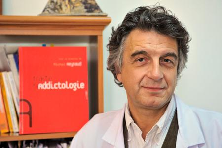 Le professeur Michel Reynaud est à l'origine de ce rapport rendu à la Mildt le 7juin. ©P.ALLARD/REA