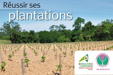 Gironde : Sortie de la plaquette « Réussir ses plantations ».