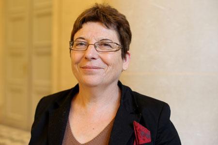 Pour Brigitte Allain, députée Europe Écologie lesVerts de laDordogne, la fiscalité doit être lamême pour tous lessaisonniers. ©F.Lafite
