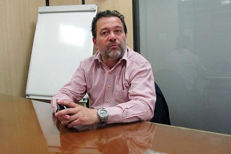 Michel Chapoutier, président de l'UMvin, est favorable à une croissance annuelle de 1% de la surface de production. ©A. AUTEXIER