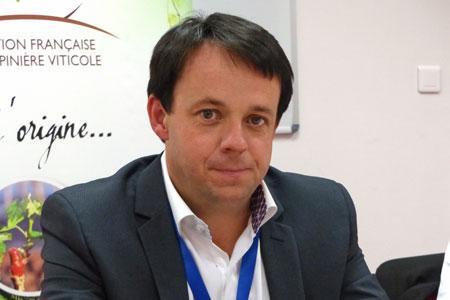 David Amblevert, président de la FFPV, refuse la généralisation du traitement des plants à l'eau chaude. ©C.STEF
