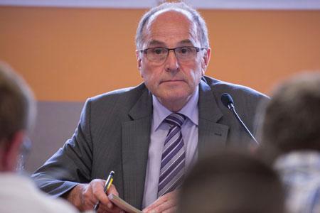 Robert Dietrich, président du Civa. «Le conseil de direction a engagé une réflexion sur l'organigramme du Civa.» ©C.REIBEL