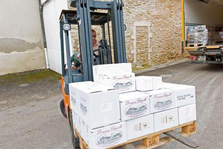 Les exportations de vins de Bourgogne sont à la hausse pour les premiers de 2015. ©Y.CAINJO/GFA