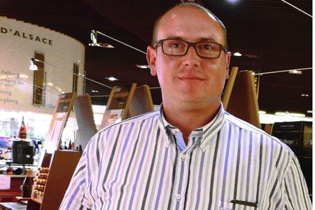 Hervé Schwendenmann, président de la coopération vinicole alsacienne, a été évincé du conseil de direction du Civa. ©B.COLLARD