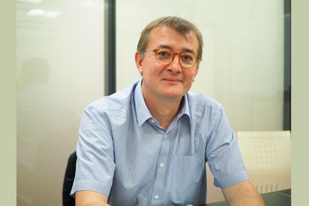 Éric Rosaz, responsable dupôle vin del'Inao. ©E.-A.JODIER