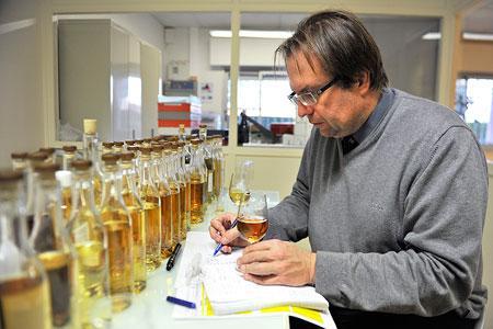 Xavier Latreuille, président du syndicat des négociants en vins du bassin charentais.