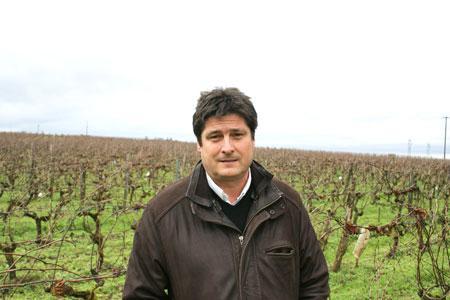 Marc Bonnin, président de la Cave de Saumur et d'Alliance Loire. ©P.TOUCHAIS