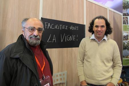 François et Vincent Pugibet, lors duSitevi2013. ©B.COLLARD