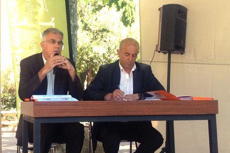 Le 5juin, la Safer du Languedoc-Roussillon a présenté le bilan annuel du marché immobilier rural. ©M.TRÉVOUX