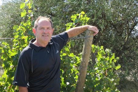 """Thierry Coste, président du groupe de travail """"Vin"""" du Copa-Cogeca. ©Copa-Cogeca"""