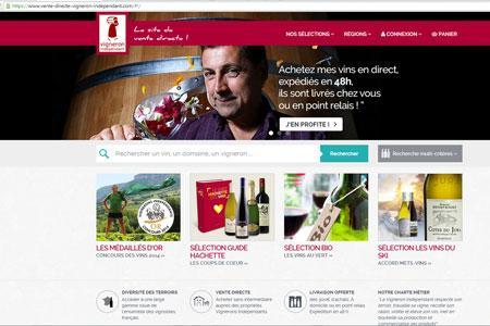 Dès le premier jour, des internautes se sont inscrits sur le nouveau site de vente en ligne des Vignerons indépendants.