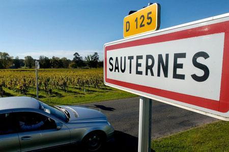 Le syndicat desproducteurs deSauternes-Barsac et cinq associations poursuivent leurmobilisation contre leprojet de Ligne àGrande Vitesse (LGV). ©P.ROY