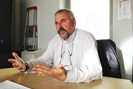 Boris Calmette, président de Coop de France Languedoc-Roussillon (photo d'archive). ©B.COLLARD