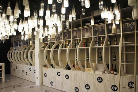 Le magasin des Halles du Boulougrin, à Reims, présentera toutes les cuvées des vignerons membres du club.