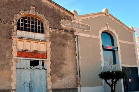La cave coopérative de Mudaison (Hérault), qui nevinifiait plus depuis2006, va être liquidée. ©F.RIVIER D.R.
