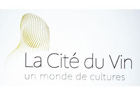 La nouvelle «identité visuelle» de la Cité du vin est censée représenter autant la silhouette du bâtiment qu'un soleil rayonnant.