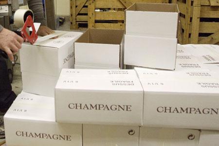 Les exportations de champagne ont connu une forte hausse en mars. ©J.-C. GUTNER