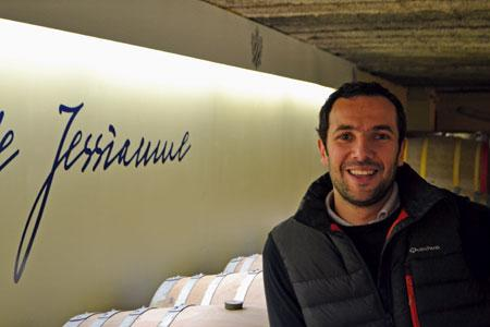 Jean-Baptiste Jessiaume, vinificateur talentueux de Bourgogne et directeur général du Domaine Chanzy.©C. MICHELIN