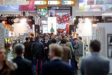 Le Salon ProWein a attiré 52000 visiteurs. ©PROWEIN
