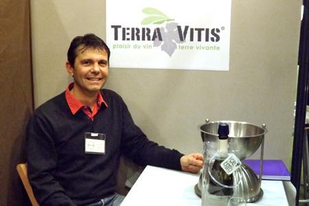 Didier Vazel, président de Terra Vitis. © I. PROUST