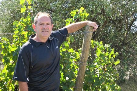 Thierry Coste, président du groupe vin du Copa-Cogeca.