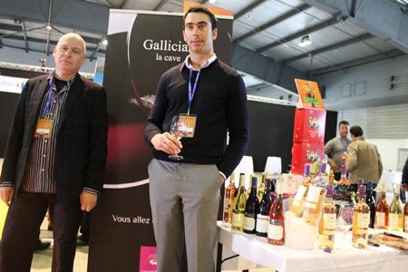 Bruno Espagne et Arnaud Moynier, respectivement commercial et directeur commercial de la cave coopérative de Gallician (Gard), sont venus pour référencer davantage de vins chez Carrefour. ©SUD DE FRANCE DÉVELOPPEMENT
