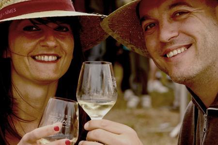 Crocoteam est une communauté d'amateurs de l'appellation Costières de Nîmes. © PEDRO